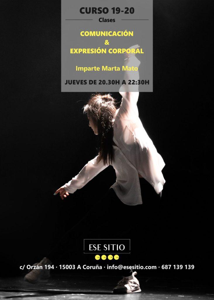 Clases de comunicación y expresión corporal en Coruña