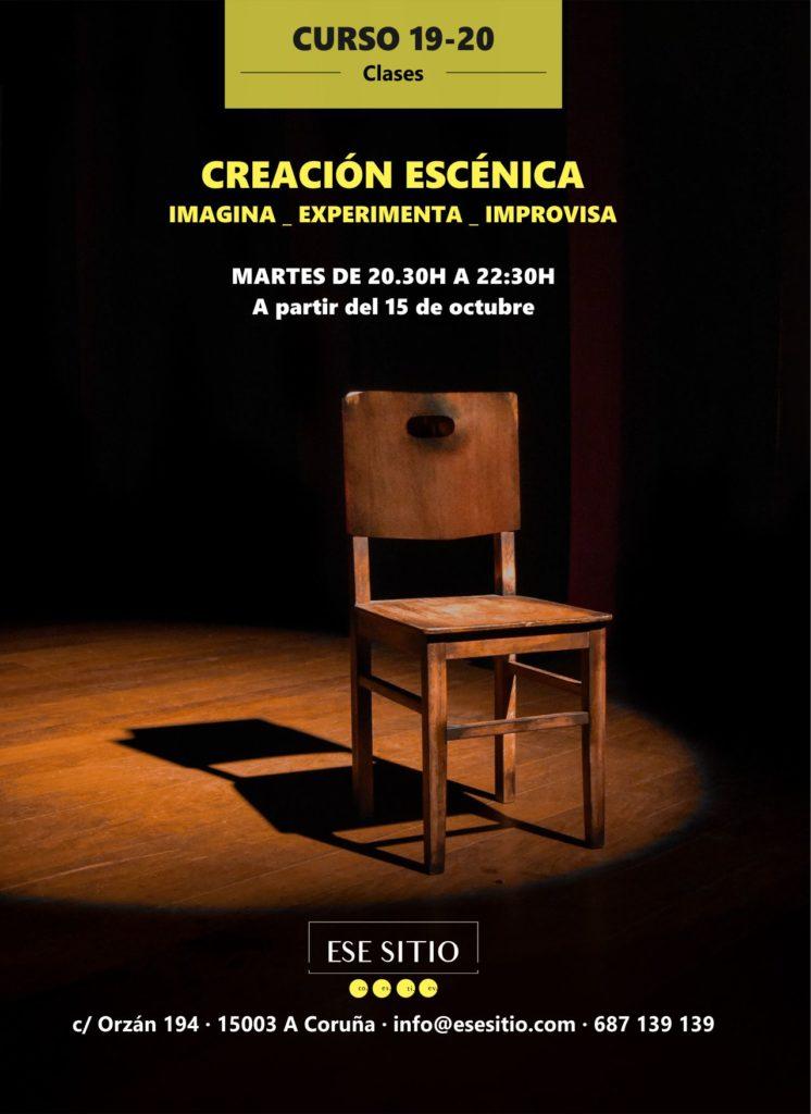 Curso en Coruña de Creación escénica