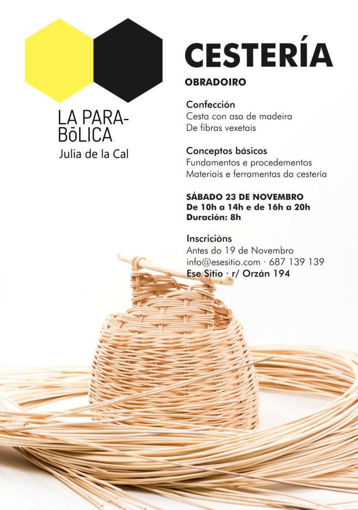 TAller de cestería en Coruña