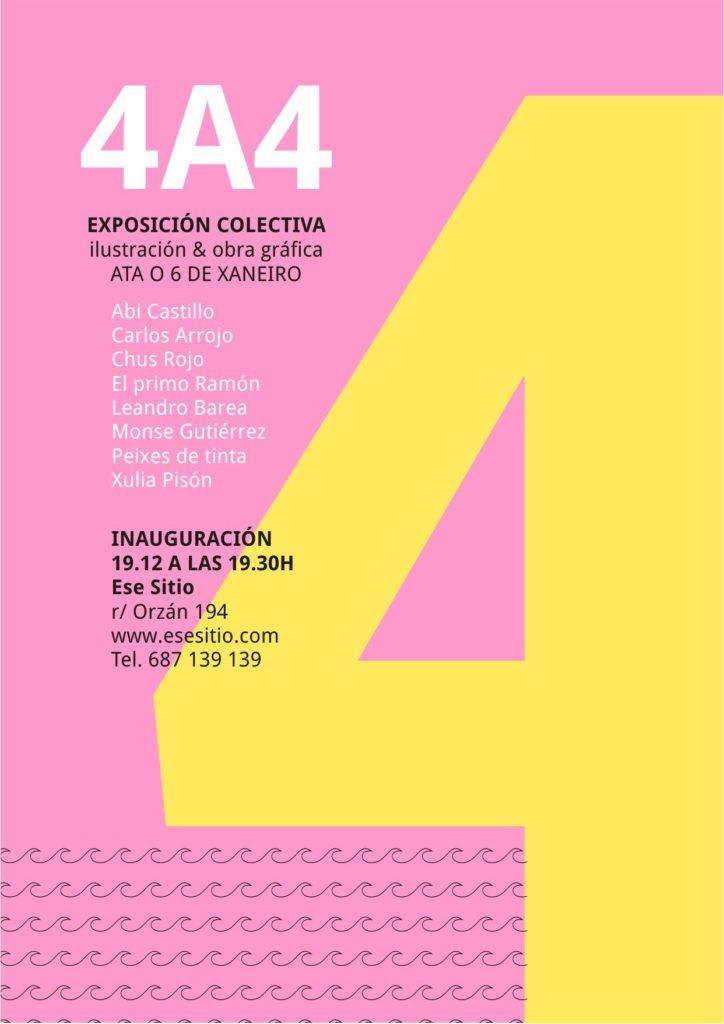 Exposición ilustración y obra gráfica en Coruña