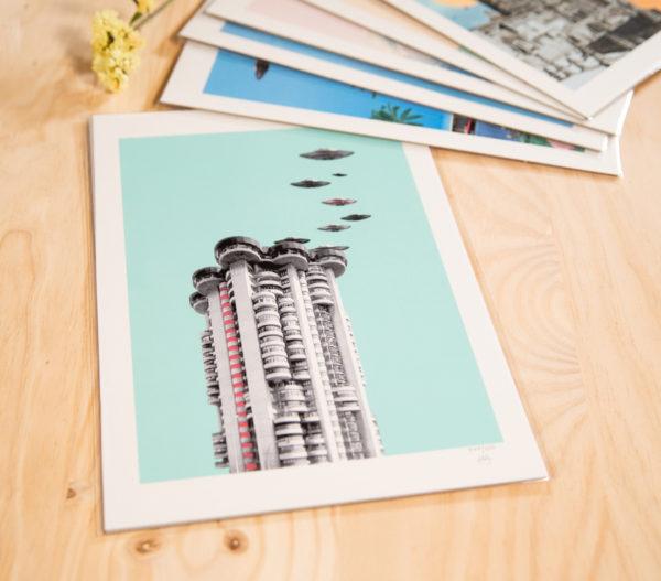 Torres blancas o el ovnipuerto de Madrid