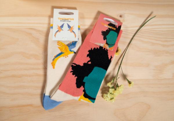 Calcetines con arte